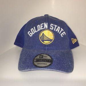 c7c7f34a0464b New Era Accessories - New Era Golden State Warriors Denim Trucker Hat